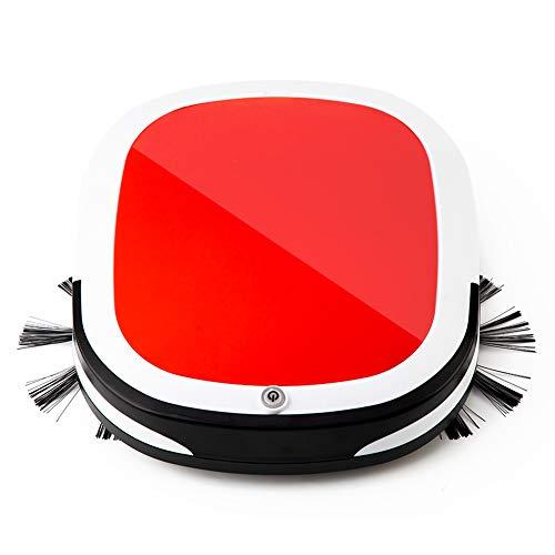 CICIN Wiederaufladbarer elektrischer kabelloser USB-Kehrroboter, Automatischer Roboterstaubsauger Haushaltsreinigung Wischen Sie den Kamin an - Boden Fegen Magnet