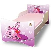 Preisvergleich für Best For Kids Kinderbett 90x200 ohne Matratze - Little Kitty