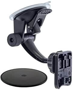 ARKON AMS014 Mini Robust Windshield and Surface Suction Mount for Trident Case Kraken A.M.S Series for Smartphone and Tablet Cases - Non-Retail Packaging - Black