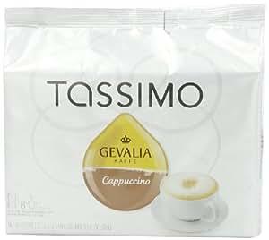 Tassimo Gevalia Cappuccino, 8 Servings, 16 Count T-Discs, (8 Espresso + 8 Milk Creamers), Garden, Haus, Garten, Rasen, Wartung