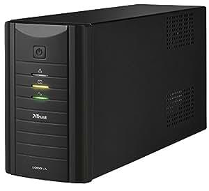 Trust Oxxtron 1000 VA UPS, 230 V Power Supply Unit for PC - Black