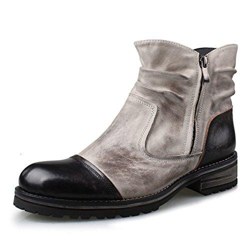Retrò scarpe alte dell'Inghilterra/Moda scarpe da uomo casual e confortevole A