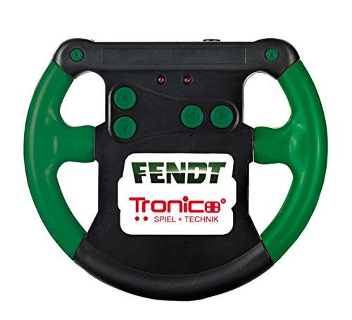 RC Auto kaufen Traktor Bild 5: Tronico 09521 - Metallbaukasten Traktor Fendt 800 Vario mit Kippanhänger und Fernsteuerung, Maßstab 1:64, Micro Serie, grün, 451 Teile*