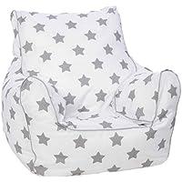 KNORRTOYS.COM Knorrtoys 68210 Stars Grey Kindersitzsack preisvergleich bei kinderzimmerdekopreise.eu