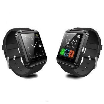 Reloj Bluetooth Smart Watch-Reloj de pulsera Reloj de datos para Samsung S4, S5-S6, Note 2 y Note 3, HTC, LG, Huawei, teléfono Android, Smartphones 2015 tipo applewatch Memteq gear