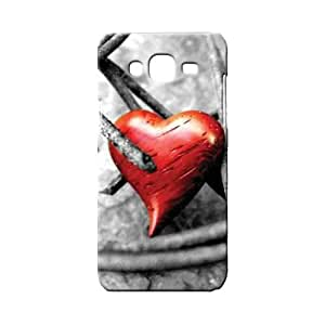 BLUEDIO Designer 3D Printed Back case cover for Samsung Galaxy E5 - G6901