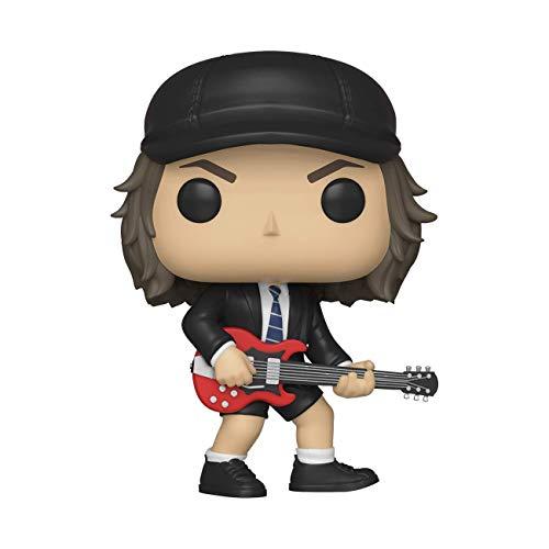 Funko 36318 Pop! Vinilo: Rocks: AC/DC: Angus Young w/Chase, Multi