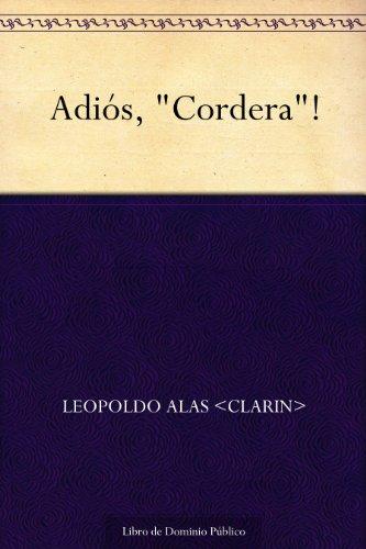 ¡Adios, «Cordera»! descarga pdf epub mobi fb2