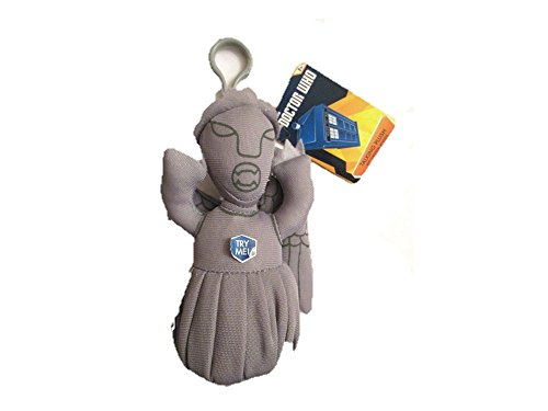 Underground Toys - Peluche Clip On Doctor Who - Weeping Angel sonore 10cm - 0882041014990