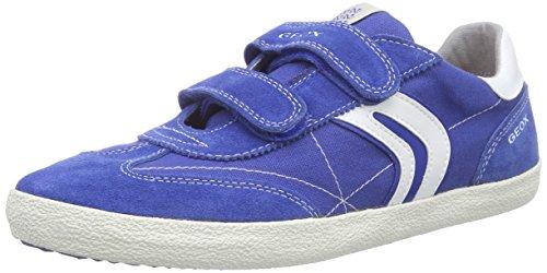 Geox Kiwi M Sneakers per Bambini e Ragazzi Multicolore Royal/Off White 37