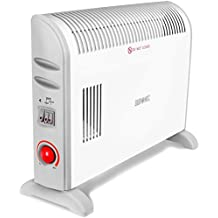 Duronic (Certified Refurbished) HV120 Convector Heater with Thermostat and Turbo Fan - 3 Settings (750W / 1250W / 2000W)