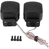 KIMISS 2 * Tweeters de altavoz universal súper potencia, Altavoz de audio cuadrado del coche