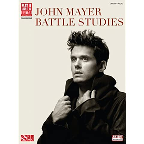 John Mayer - Battle Studies Songbook (Play It Like It Is Guitar)