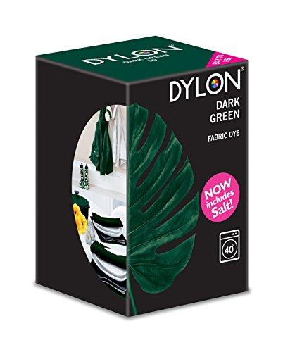 Dylon Tinta per Tessuti - Verde scuro 350g con sale incluso