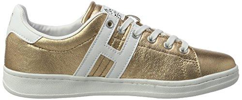 16mcb002 white i H Damen bronce Gold s Sneakers qzd0wdt