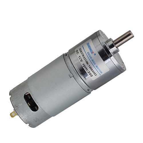 Yibuy 12 V DC 200 RPM High Torque Gear Box Speed Control Elektro Motor Wendbar (Ersatz-motor Speed 2)