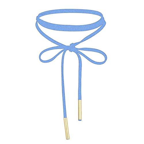 mingjun-choker-long-black-velvet-fashionable-attractive-gothic-cute-tassel-ribbon-necklace-blue