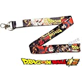 Blue Aura Dragon Ball Z ID Holder Lanyard Keychain Bike Keychain Car Keychain Collectble Gifting RED
