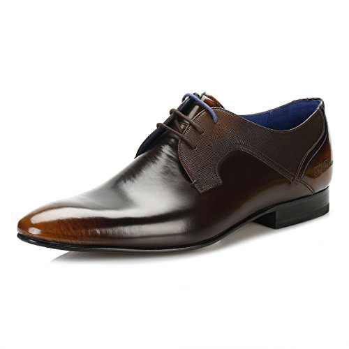 Ted Baker Uomo Marrone Pelton Derby Scarpe-UK 11