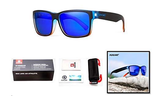 Polarisierte Sonnenbrille für Damen und Herren. 100% Schutz