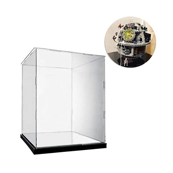 DXX Acrilico Vetrina Acrylic Display Case Scatola di Acrilico Trasparente per Lego 75159 - Star Wars Morte Nera (Nessun… 1 spesavip
