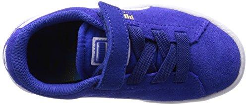 Puma 359452, Chaussures Premiers Pas Mixte Bébé Bleu (Surf The Web/White)
