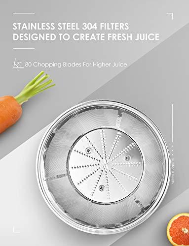 Zentrifugaler Entsafter für Gemüse und Obst Bild 2*