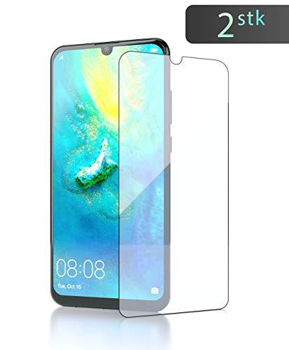 innoGadgets Panzerfolie [2X] für Huawei P smart 2019 | Extrem dünn, Ultra hart [9H] & 100prozent transparent | Panzerglas, Panzerglasfolie - Anti Fingerabdruck | Einfaches Anbringen ohne Bläschen