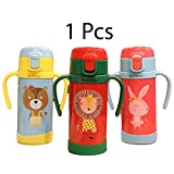 GRAPPLE DEALS Stainless Steel Hot and Cold Sipper Water Bottle for Kids. 300