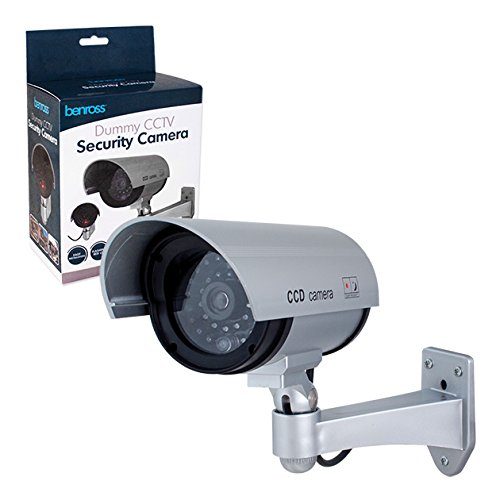 Benross Wall Mounted Dummy CCTV Security Camera
