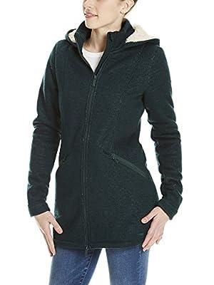 Bench Damen Sweatjacke Bonded Long Teddy Jacket von Bench bei Outdoor Shop
