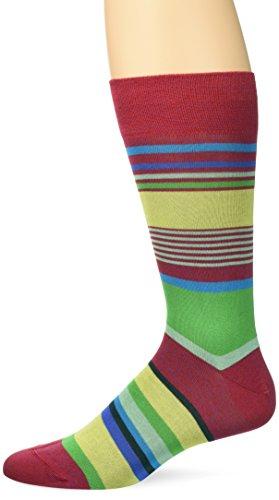 BUGATCHI Men's Doriano Fashion Sock, Cora, Sock Size:10-13/Shoe Size: 6-12