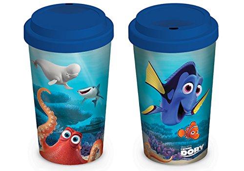 Finding Dory personaggi tazza da viaggio in ceramica, multicolore