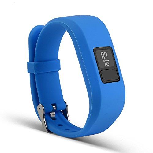 Bemodst Correa Strap para Reloj Garmin Vivofit 3, Pulsera de Silicona Brazalete de Reemplazo Banda de Repuesto para Hombre Mujer