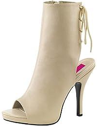 Heels-Perfect - punta abierta Mujer