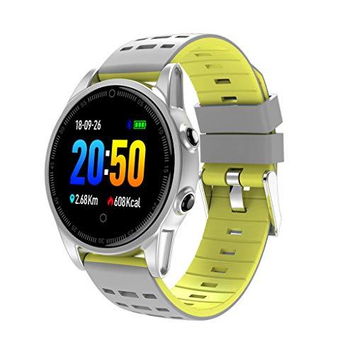 R13 Multifunktions-Farbdisplay Chronograph Schritt Herzfrequenz-Tracker Schlafüberwachung Informationen Benachrichtigung Anruf Wasserdicht intelligente Sportuhr/Für Android-iOS-Geräte und Software