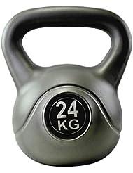 BodyRipPesa rusa de vinilo, 24kg, color gris
