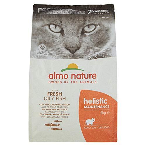 almo nature Holistique Maintenance Complet pour Chats Adultes Nourriture sèche avec Frais Traces de Poissons: 2kg