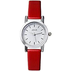 Student recreation retro watch/ fashion strap watch/Simple quartz watch-C