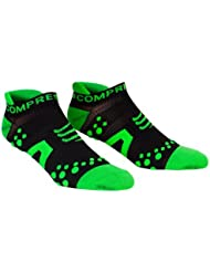 Compressport Kompressionssocken Proracing Run - Calcetines para hombre, color verde, talla M