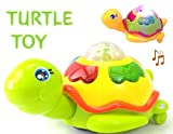 #4: Akhand Bump and Go Light and Musical Turtle Toy for Kids