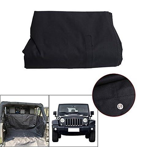 Hinten Bank Haustier Schutzdecke Kofferraumschutz für 2007-2017 Jeep Wrangler JK