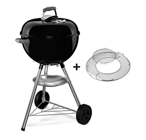 Weber® Bar-B-Kettle Holzkohlengrill GBS, 47 cm, Black