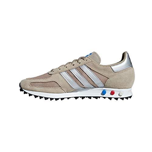 hot sale online c8569 19ad9 adidas La Trainer, Scarpe da Fitness Uomo, Multicolore (Trakha Msilve Cblack