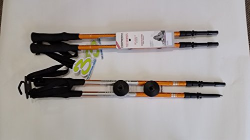 Komperdell bâtons de randonnée Anti-Chocs Trekker Parties 105 140 cm bâton de randonnée léger