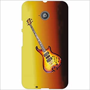Moto E (2nd Gen) 4G Back Cover - Rock On Designer Cases