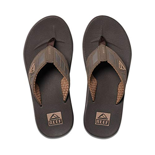 Reef Phantoms, Sandalias Flip-Flop para Hombre, Marrón Brown, 46 EU