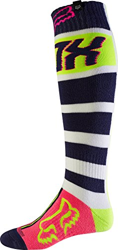 Fox 2017 Herren Motocross / MTB Socken - FRI FALCON THICK - navy-weiß: Größe Socken: M