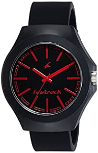 Fastrack Analog Black Dial Unisex Watch-NG38004PP06C
