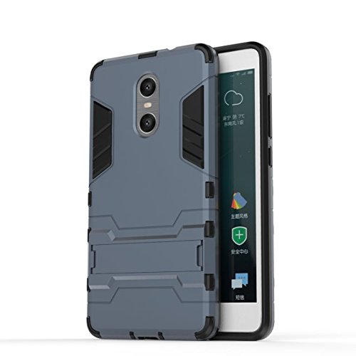 Xiaomi Hongmi Pro-Fall-Abdeckung 2 in 1 New Armour Tough Art Hybrid Dual Layer Rüstung Defender PC Hard Cases Standplatz-Abdeckung Stoß- Fall Für Xiaomi Hongmi Pro ( Color : Black , Size : Xiaomi Hong Black